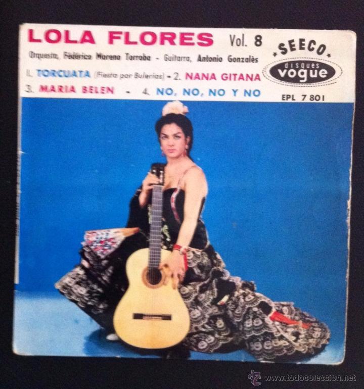 LOLA FLORES - EDICIÓN FRANCESA - SEECO VOGUE - TORCUATA, NANA GITANA (Música - Discos de Vinilo - EPs - Flamenco, Canción española y Cuplé)