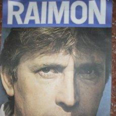 Discos de vinilo: RAIMON.TOTES LES CANÇONS, 10 LP EN ESTUCHE, NUEVO! Y LIBRO CON TEXTO.ADEMÁS ,POSTER ORIGINAL AÑOS 70. Lote 49229977