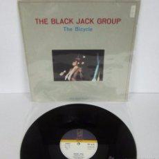 Discos de vinilo: THE BLACK JACK GROUP - THE BICYCLE - MX - DISCOS GAMES 1985 SPAIN - ITALO DISCO. Lote 49230164