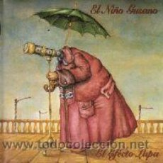 Discos de vinilo: EL NIÑO GUSANO EL EFECTO LUPA (LP, GRABACIONES EN EL MAR, GELMAR 114-LP, SPAIN, 1996) ORIGINAL!!!!. Lote 49232119
