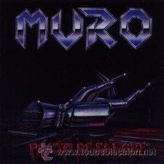 Disques de vinyle: MURO PACTO DE SANGRE (LP, AVISPA ALP - 014 SPAIN 1992) HEAVY METAL, SPEED METAL. Lote 49232175