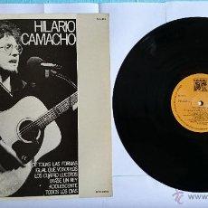 Discos de vinilo: HILARIO CAMACHO - HILARIO CAMACHO (1977). Lote 49232352