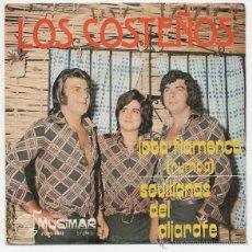 Discos de vinilo: LOS COSTEÑOS - JOTA FLAMENCA (RUMBA) / SEVILLANAS DEL ALJARAFE. Lote 49232447