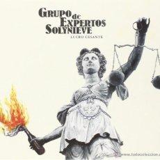 Discos de vinilo: MX GRUPO DE EXPERTOS SOLYNIEVE LUCRO CESANTE VINILO LOS PLANETAS. Lote 254881530