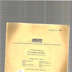 Discos de vinilo: ARCHIV PRODUKTION. Lote 49240696