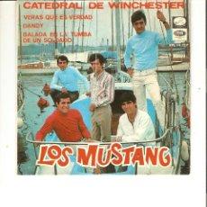 Discos de vinilo: LOS MUSTANG LA CATEDRAL DEL WINCHESTER LA VOZ DE SU AMO 1967. Lote 49242533
