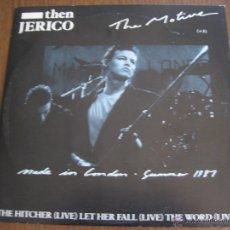 "Discos de vinilo: THEN JERICO - THE MOTIVE - MAXISINGLE DE 10"" LONDON UK 1987. Lote 49244430"