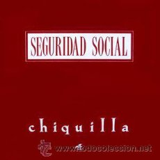 Discos de vinilo: SEGURIDAD SOCIAL + DUNCAN DHU - CHIQUILLA /MUNDO DE CRISTAL (GRABACIONES ACCIDENTALES, 2G049, 1991). Lote 49245630