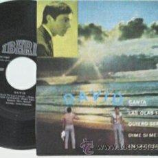 Discos de vinilo: DAVID -EP- LAS OLAS TE LLEVARAN +3 OR SPAIN 1971. Lote 49246498