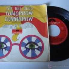 Discos de vinilo: SINGLE BEE GEES - TOMORROW TOMORROW / SUN IN MY MORNING - EDICION ESPAÑOLA POLYDOR 1969. Lote 49251775