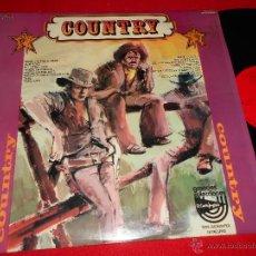 Discos de vinilo: THE COW SINGERS COUNTRY LP 1976 RED POINT ESPAÑA SPAIN COMO NUEVO. Lote 49252864