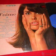 Discos de vinilo: CARAVELLI J'AIME LP 1965 DISCOPHON EDICION ESPAÑOLA SPAIN. Lote 49252871