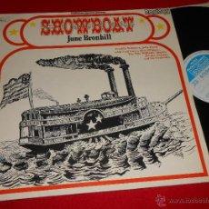 Discos de vinilo: SHOWBOAT JUNE BRONHILL+WILLIAMS+DAWN+DOUGLAS+THE RITA WILLIAMS+FRED LUCAS LP 1971 CONTOUR ENGLAND UK. Lote 49252917