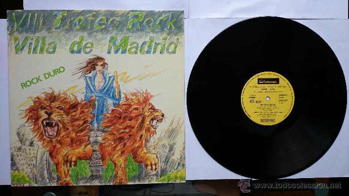 SANGRE AZUL - REY DE LA CIUDAD / CHICAS, WHISKY Y ROCK AND ROLL / TODO MI MUNDO ERES TU.. (1985) (Música - Discos de Vinilo - Maxi Singles - Heavy - Metal)