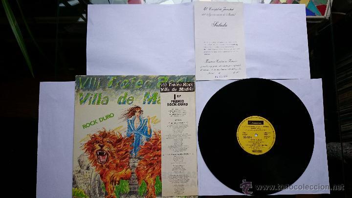 Discos de vinilo: SANGRE AZUL - REY DE LA CIUDAD / CHICAS, WHISKY Y ROCK AND ROLL / TODO MI MUNDO ERES TU.. (1985) - Foto 3 - 49257714
