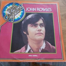Discos de vinilo: JOHN ROWLES. EDICION ALEMANA. Lote 49259992