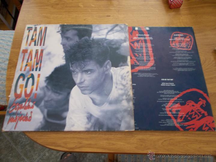 ESPALDAS MOJADAS. TAM TAM GO (Música - Discos - LP Vinilo - Grupos Españoles de los 90 a la actualidad)