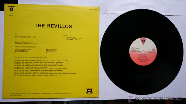 Discos de vinilo: THE REVILLOS - DO THE MUTILATION / SNATZOMOBILE (MAXI 1983) - Foto 2 - 49261576