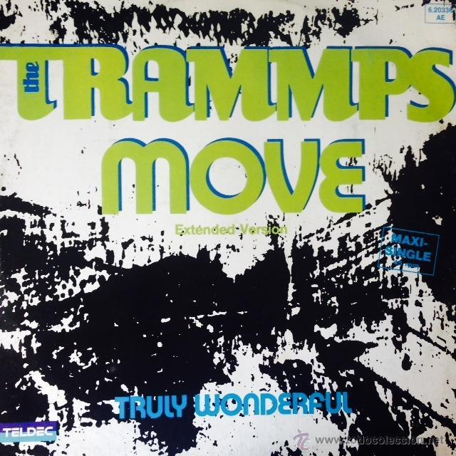 THE TRAMMPS - MOVE . MAXI SINGLE . 1984 TELDEC GERMANY (Música - Discos de Vinilo - Maxi Singles - Funk, Soul y Black Music)
