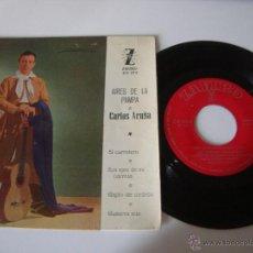 Discos de vinilo: SINGLE EP CARLOS ACUÑA - AIRES DE LA PAMPA - ZAFIRO 1961 , RF-3179 , BUEN ESTADO. Lote 49263926
