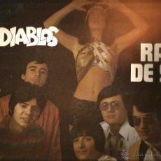 Discos de vinilo: LP LOS DIABLOS : UN RAYO DE SOL ( EDITADO EN ALEMANIA ). Lote 49264033