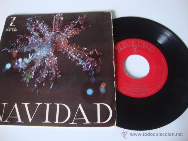 SINGLE EP ZAFIRO NAVIDAD Z-259 NOCHE DE PAZ 1962 (Música - Discos de Vinilo - EPs - Grupos Españoles 50 y 60)