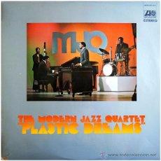 Discos de vinilo: THE MODERN JAZZ QUARTET - PLASTIC DREAMS - LP SPAIN 1971 - ATLANTIC / HISPAVOX HATS 421-83. Lote 49264790
