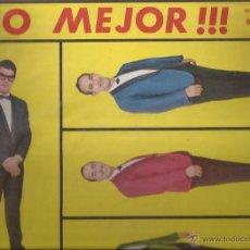 Discos de vinilo: LP-ORQUESTA LOS MELODICOS LO MEJOR...-DISCOMODA 412-VENEZUELA 196???. Lote 49267398
