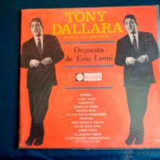 Disques de vinyle: TONY DALLARA - FESTIVAL SAN REMO 1964 - ORQUESTA EZIO LEONI - CANTA EN ESPAÑOL - LPP 38056. Lote 49269961