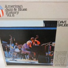 Discos de vinilo: DAVE BRUBECK - AMERICAN JAZZ & BLUES HISTORY VOL. 8. Lote 49290668