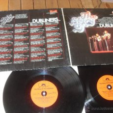 Discos de vinilo: THE DUBLINERS 2 LP THE STORY OF ... DUBLINERS ... MADE IN GERMANY 1976 GATEFOLD SLEEVE. Lote 49291038