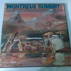 Discos de vinilo: ADD AN IMAGE VARIOUS ?– MONTREUX SUMMIT, VOLUME 1, LP, RARE SPAIN. Lote 49291892