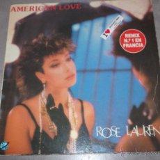 ROSE LAURENS - AMERICAN LOVE - MAXI