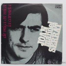 Discos de vinilo: JOAN MANUEL SERRAT. DE MICA EN MICA. LA CARMETA. EDIGSA. 1969. Lote 49292342