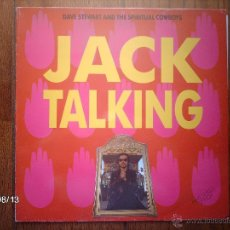 Discos de vinilo: DAVE STEWART AND THE SPIRITUAL COWBOYS - JACK TALKING + SUICIDAL SID + LOVE CALCULATOR . Lote 49295630