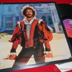 Discos de vinilo: WILL SHAKESPEARE RICHARD HILL THE LONDON GABRIELI ORCHESTRA OST BSO LP 1978 PYE EDICION INGLESA UK. Lote 49296313