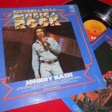 Discos de vinilo: JOHNNY NASH AHORA PUEDO VER CLARAMENTE LP CBS + FASCICULO COMO NUEVO. Lote 49296317