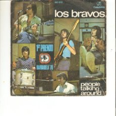 Discos de vinilo: LOS BRAVOS, PEOPLE TALKING AROUND COLUMBIA 1970. Lote 49306581