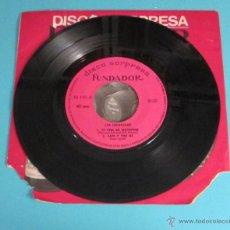 Discos de vinilo: LOS INDONESIOS. DISCO SORPRESA FUNDADOR. Lote 49308615