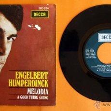 Discos de vinilo: DISCO DE VINILO - ENGELBERT HUMPERDINCK - MELODIA, A GOOD THING GOING -. Lote 49313467