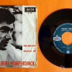 Discos de vinilo: DISCO DE VINILO - ENGELBERT HUMPERDINCK - TEN GUITARS, RELEASE ME - . Lote 49313632
