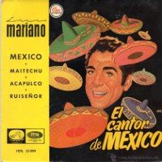 Discos de vinilo: LUIS MARIANO - MEXICO - EP.. Lote 49315540