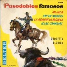 Discos de vinilo: PASADOBLES FAMOSOS - MI JACA - EP.. Lote 49318236
