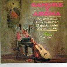 Discos de vinilo: SANGRE Y ARENA . ESPAÑA CAÑI - EP.. Lote 49318271
