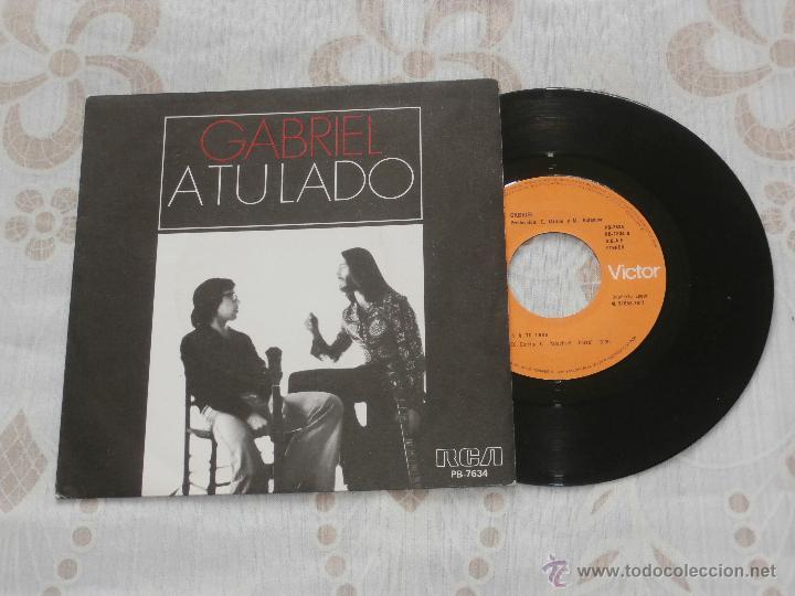 GABRIEL (MI GENERACION) (SANTI PICO) 7´SG A TU LADO / LLUEVE (1977) VINILO NUEVO (Música - Discos - Singles Vinilo - Grupos Españoles de los 70 y 80)