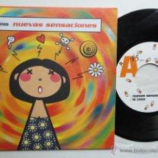 Discos de vinilo: LOS PLANETAS - NUEVAS SENSACIONES+ 3- EP 1995- 1ª EDICION SUBTERFUGE RECORDS. EX/EX.. Lote 49323515
