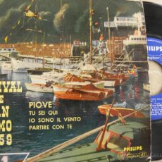Discos de vinilo: ARTURO TESTA -FESTIVAL DE S. REMO 1959 -EP. Lote 49325288