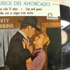 Discos de vinilo: MARTY ROBBINS -EL ARBOL DEL AHORCADO -EP 1960. Lote 49326466