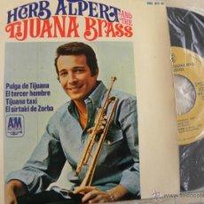 Discos de vinilo: HERB ALPERT AND THE TIJUANA BRASS -EP 1966 -BUEN ESTADO. Lote 49326657