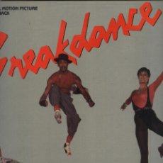 Discos de vinilo: BREAKDANCE - ORIGINAL MOTION PICTURE SOUNDTRACK . Lote 49333408